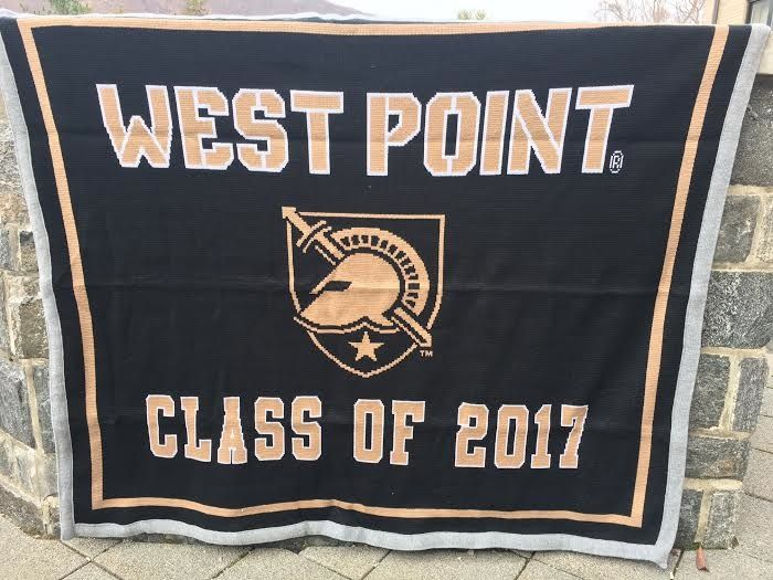 West Point Class of 2017 Knit Throw Blanket