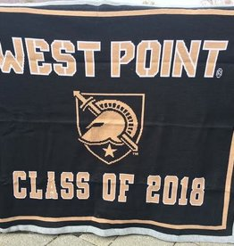 West Point Class of 2018 Knit Throw Blanket (Final Sale)