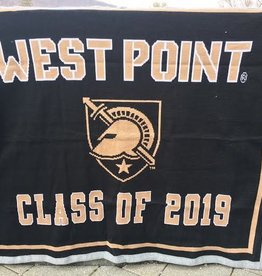 West Point Class of 2019 Knit Throw Blanket