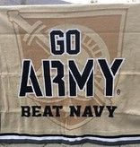 GO ARMY Beat Navy Knit Throw Blanket