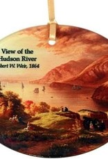 Hudson River View Ornament