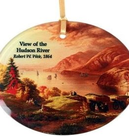 Hudson River View Ornament