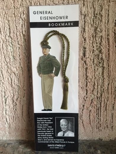 General Dwight D. Eisenhower Bookmark (D. Howell Co.)