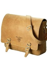West Point Hunter Leather Messenger Bag (Drop Ship)