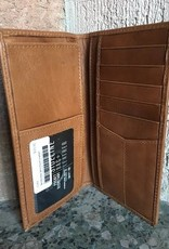 West Point Leather Checkbook Cover