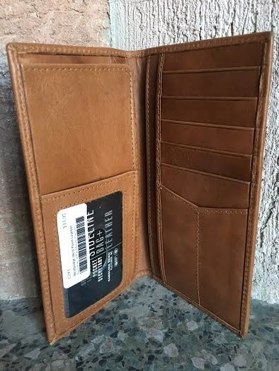 West Point Leather Secretary (Checkbook Cover)