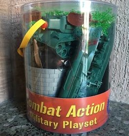 Deluxe MIlitary Playset in Carry Bucket