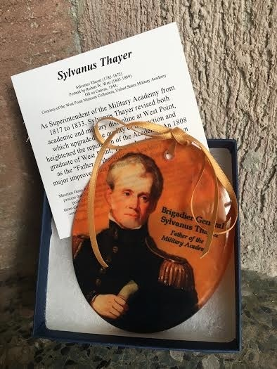 Brigadier General Sylvanus Thayer, Father of the Military Academy, Glass Ornament