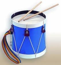 Blue FIeld Drum
