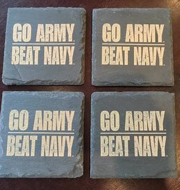 GO ARMY BEAT NAVY Slate Coasters