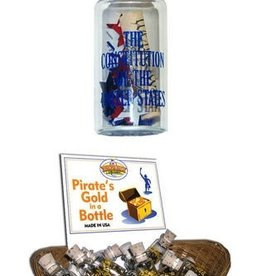 """Mini """"The Constitution of the United States"""" in a Bottle"""