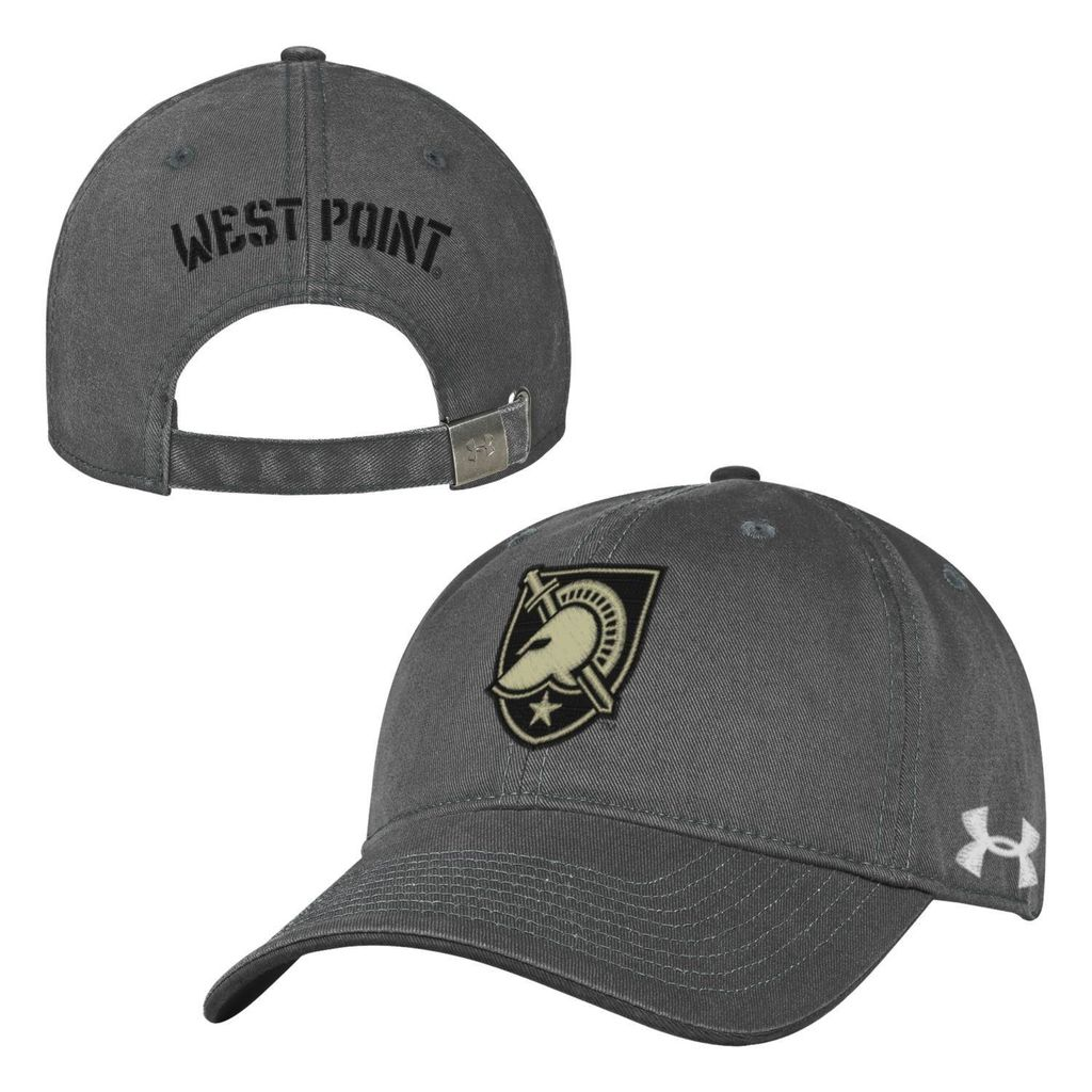 """Under Armour """"West Point"""" Baseball Cap in Graphite"""