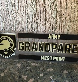 Army/WP/Grandparent Decal, 3 x 10