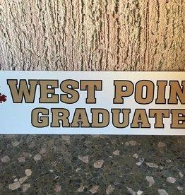 West Point Graduate Bumper Strip