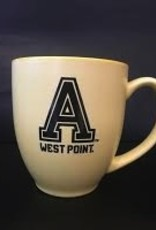 "YELLOW Block ""A"" West Point Mug (15 Ounce)"