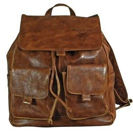 West Point Leather Rucksack (Drop Ship)