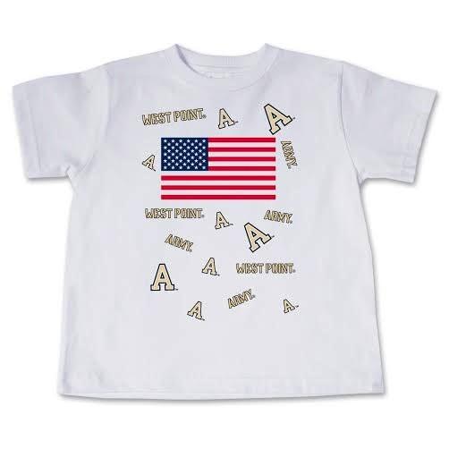 Toddler U.S. Flag/WP T-Shirt