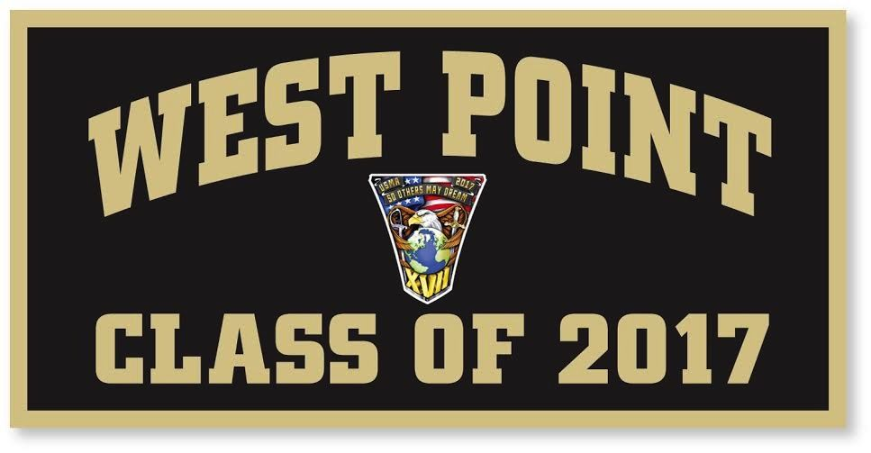West Point Class of 2017 Banner with Class Crest