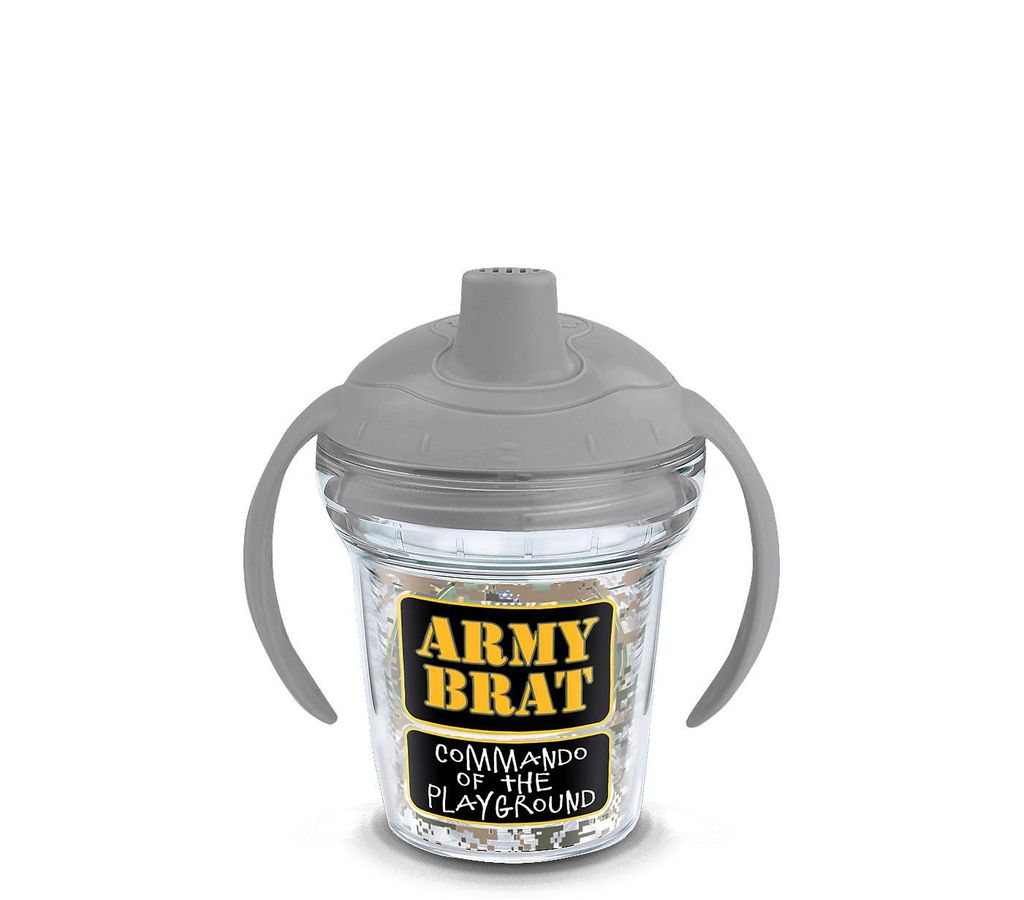 Tervis Army Brat Sippy Cup with Lid (6 ounces)