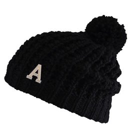 "Pom Hat with Block ""A"""