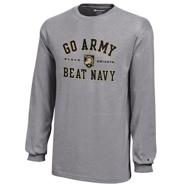"""GO ARMY Beat Navy ""Youth L/S T-Shirt"