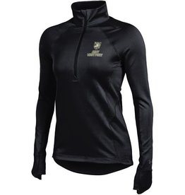 Under Armour, Women's Fleece 1/2 Zip Pullover, Black