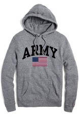 Heritage Hood ARMY Sweatshirt with Flag (League Collegiate)