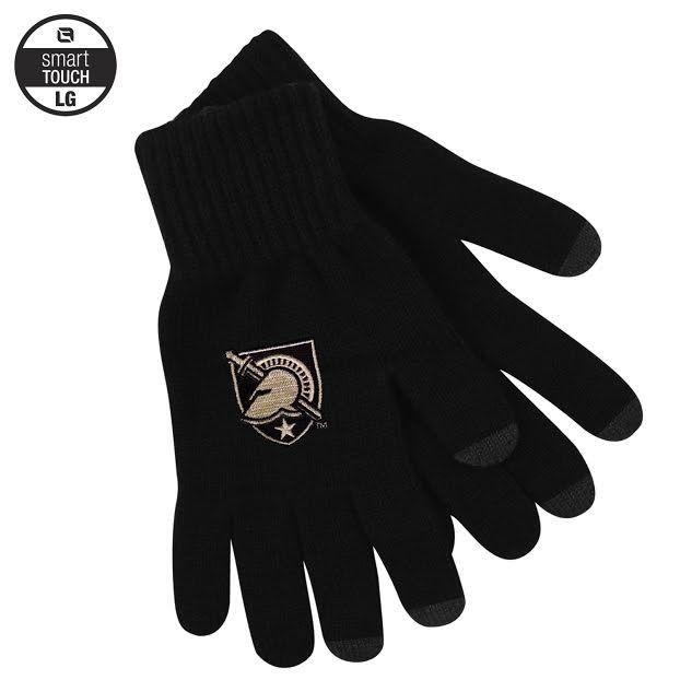 I-Text Black Glove w/Army Shield (M)