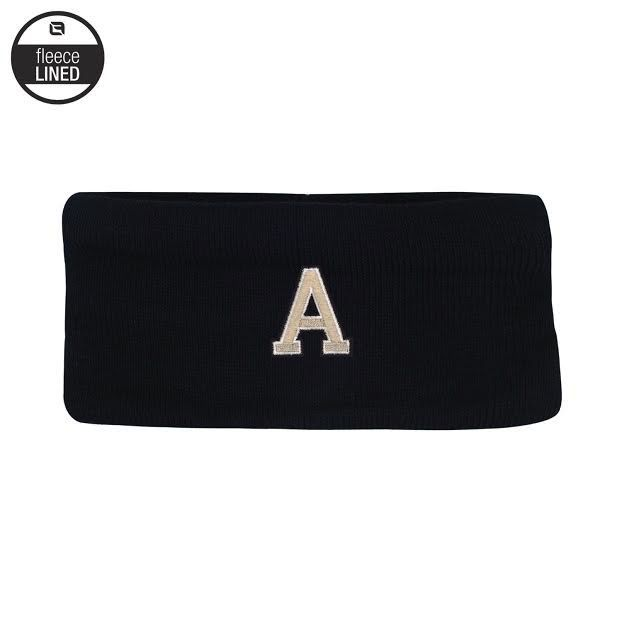 "Deep Freeze Knit Ear Band with Fleece Lining/Block ""A"""