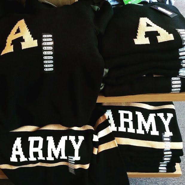 "Army ""A"" Heritage Sweater (Hillflint)"