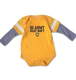 Infants Running Back Bodysuit (GO ARMY Beat Navy)