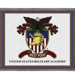West Point Crest Throw Blanket (54 x 70)