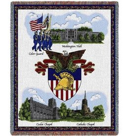West Point Scenes Throw