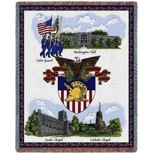 "West Point, USMA, Stadium Throw Blanket (54"" by 70"")"