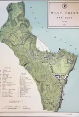West Point Map, circa 1883 (Numbered)