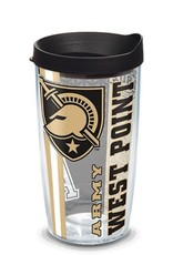 Army Black Knights College Pride Wrap with Lid (Tervis), 16 oz. Tumbler