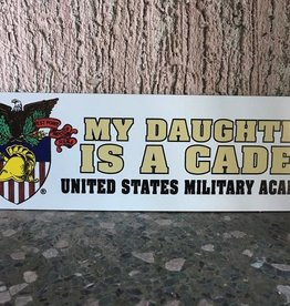 """My Daughter Is A Cadet"" Magnet"