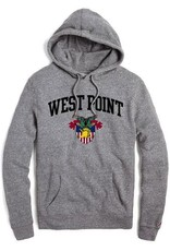 West Point Sweatshirt with Crest, Gry
