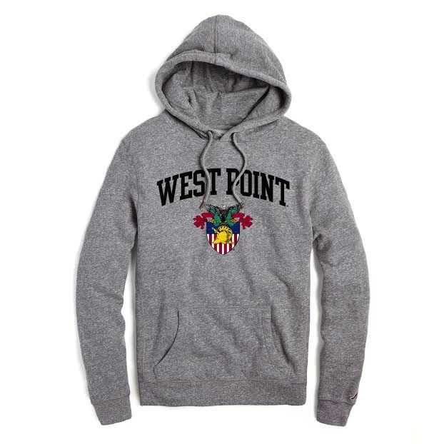 """West Point""Sweatshirt with Crest"