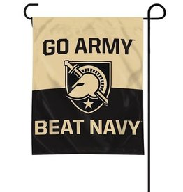 """GO ARMY  Beat Navy"" Garden Flag"