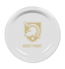 West Point Plastic Plates (10 Count)