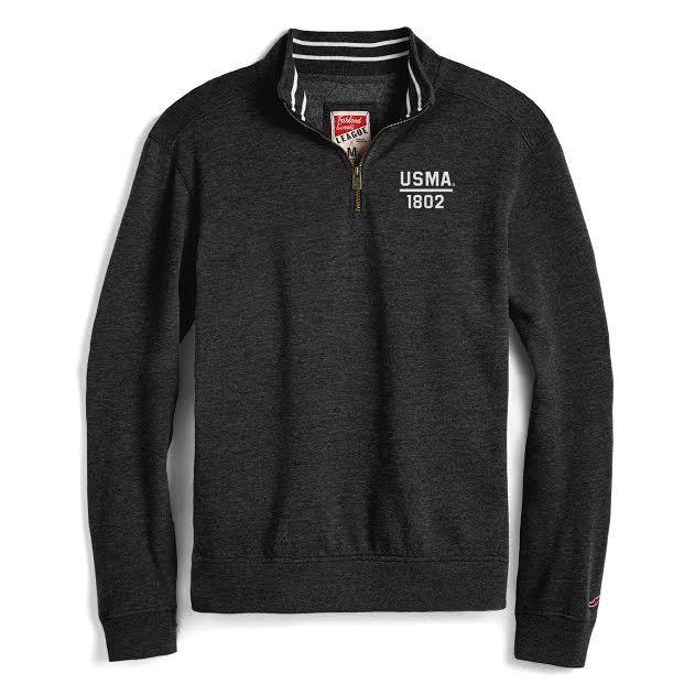 Triblend Collegiate 1/4 Zip Sweatshirt