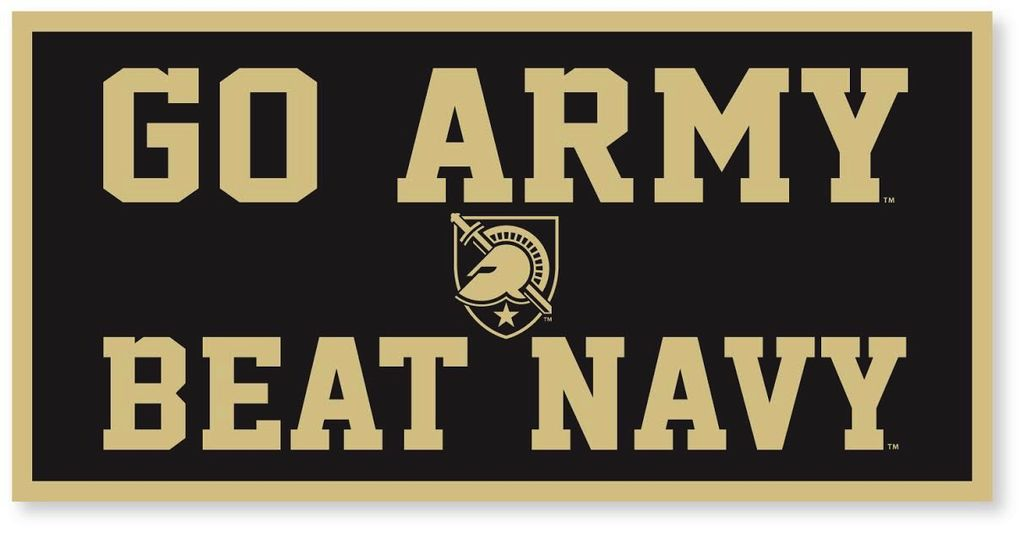 """""""GO ARMY/Beat Navy"""" Banner (18 x 36 Inches)"""