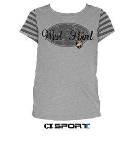 Youth Girls Striped Jersey