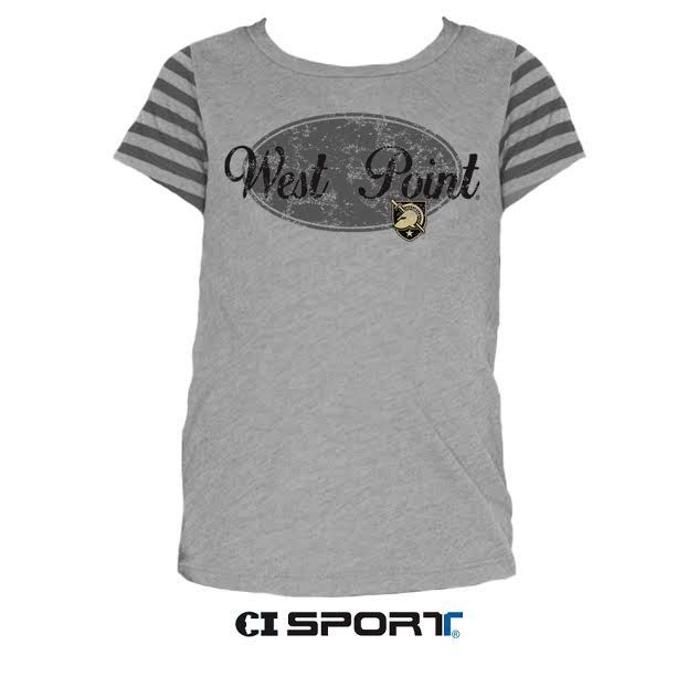 Youth Girls Striped Jersey