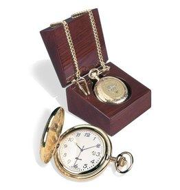 USMA Crest Pocket Watch with Box
