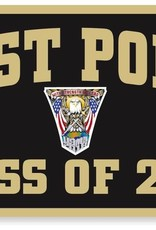 West Point Class of 2018 Banner (18 x 36 Inches) (Class Specific Crest)