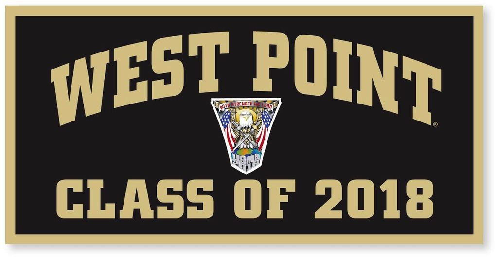 West Point Class of 2018 Banner (18 x 36 Inches)