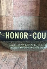 """""""Duty, Honor, Country"""" Doorway Plank Sign (4 by 36 inches)"""