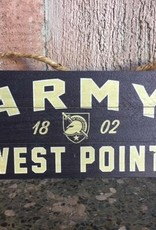 Army/ West Point, Wooden Plank Hanging Sign